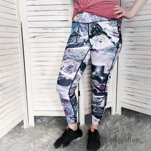 the marble printed legging